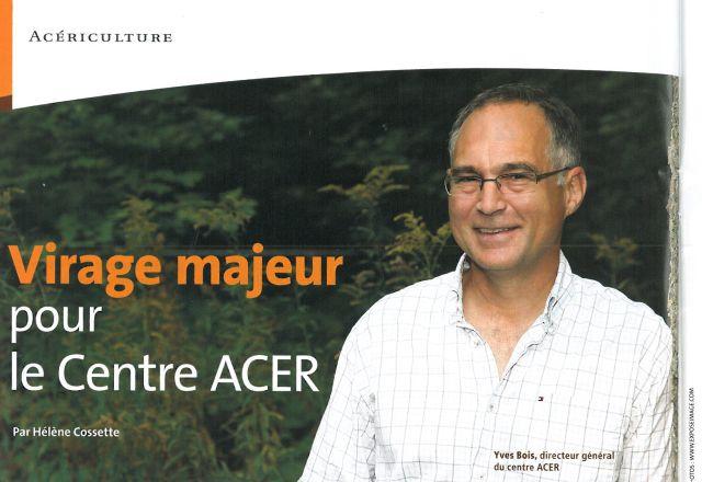 Virage majeur pour le Centre ACER