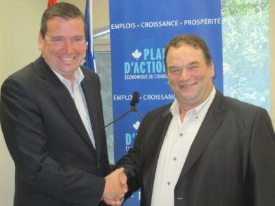 Le gouvernement du Canada investit dans l'industrie acéricole au Québec