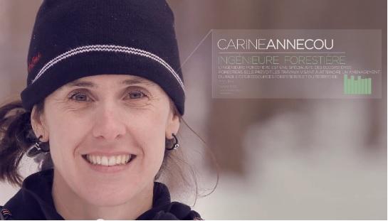 Capsule video de Carine Annecou, ing. f. et le Centre ACER