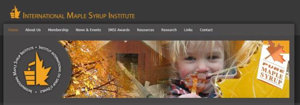 Changement de direction à l'Institut international du sirop d'érable
