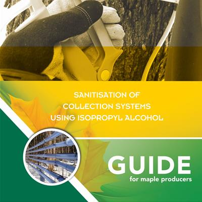 Guide - Isopropyl alcohol (IPA) sanitization method in maple sugar production
