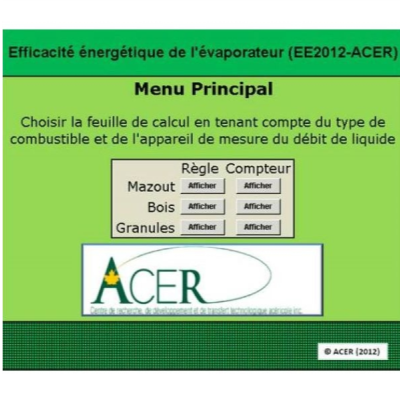 EE2012-ACER Software package